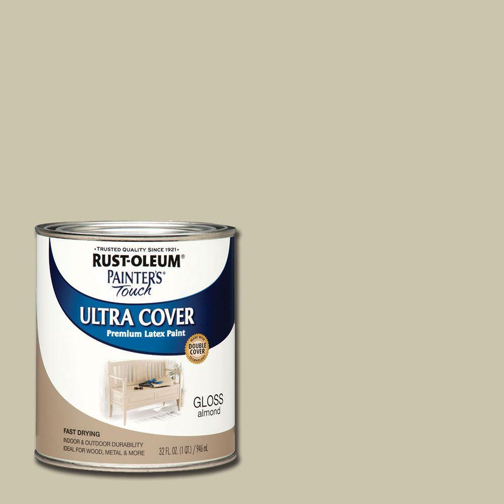 32 oz. Ultra Cover Gloss Almond General Purpose Paint (Case of 2)
