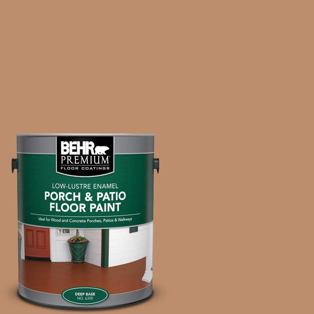 1 gal. #PFC-18 Sonoma Shade Low-Lustre Enamel Interior/Exterior Porch and Patio Floor Paint