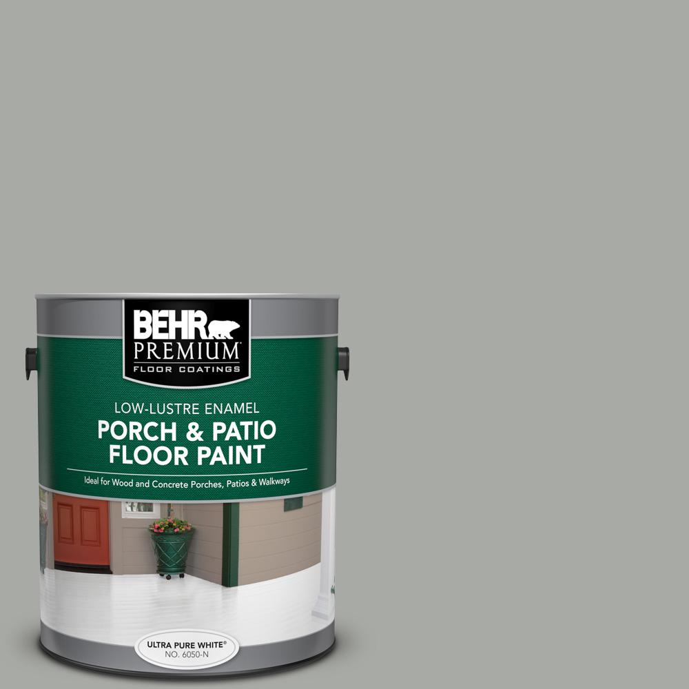 1 gal. #PPU25-15 Flipper Low-Lustre Enamel Interior/Exterior Porch and Patio Floor Paint