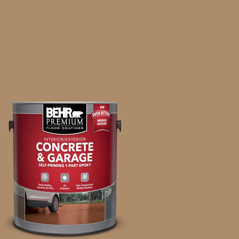 1 gal. #N270-5 River Road Self-Priming 1-Part Epoxy Satin Interior/Exterior Concrete and Garage Floor Paint